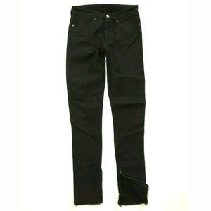 Ksubi jeans Spray on Grease Skinny Black Ankle zip